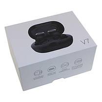 Беспроводные Bluetooth наушники GORSUN GS V7 black, бездротові блютуз навушники TWS черные, фото 3