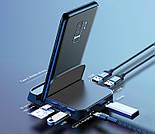 Док-станция для смартфонов Samsung с портом Type-C + USB хаб Baseus Mate Docking Type-C mobile phone intellige, фото 6