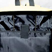 Рюкзак городской повседневный спортивный City Backpack горчичный (для учебы, работы, путешествий), фото 3