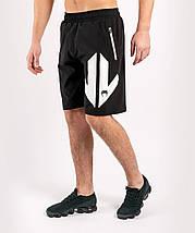 Шорты спортивные мужские Venum Arrow Loma Signature Collection Training shorts Black White, фото 3