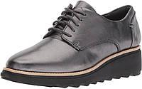 Женские туфли Clarks Sharon Noel оригинал. Натуральная кожа. 41,5