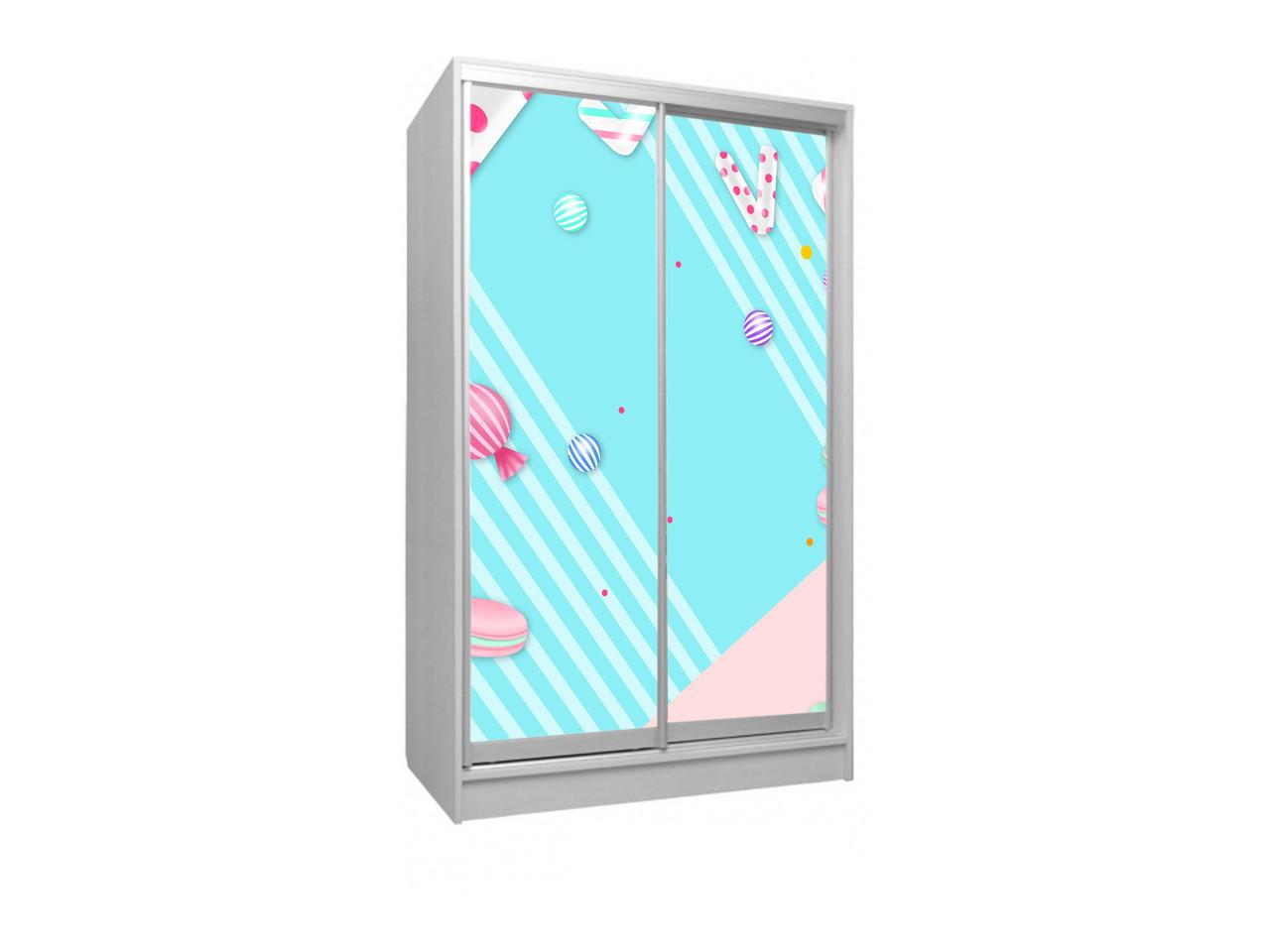 Детский шкаф -купе 2Д.  Viorina-Deko