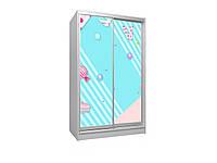 Детский шкаф -купе 2Д.  Viorina-Deko, фото 1