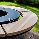 Круглый мангал гриль со столом AHOS INSPIRATION, фото 4