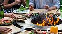 Круглый мангал гриль со столом AHOS INSPIRATION, фото 9