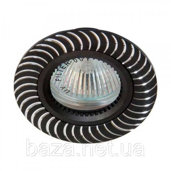 Встраиваемый светильник Feron GS-M392 черный