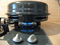 Сковорода гриль газ на газовой плите