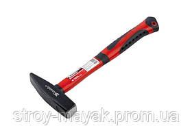 Молоток слесарный качественный 400 г, фиберглассовая прорезиненная ручка, MTX