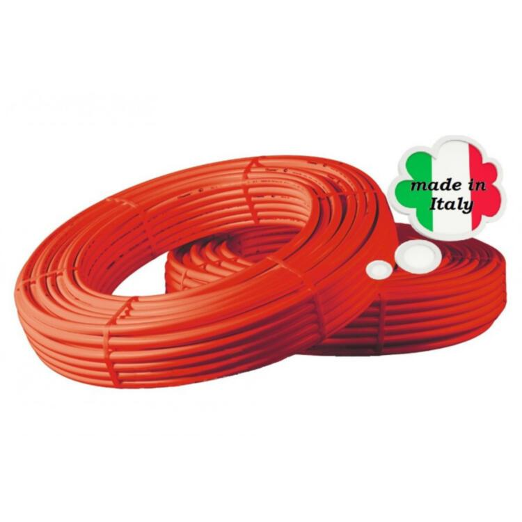 Giacomini GIACOTHERM R996T PE-X 16x2 труба из сшитого полиэтилена (красная)