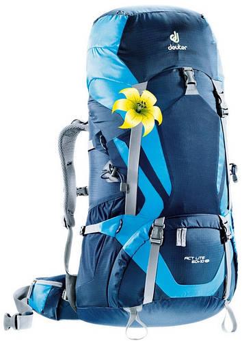 Женский походный, рюкзак DEUTER ACT LITE 60+10 SL, 4340015 3306 синий