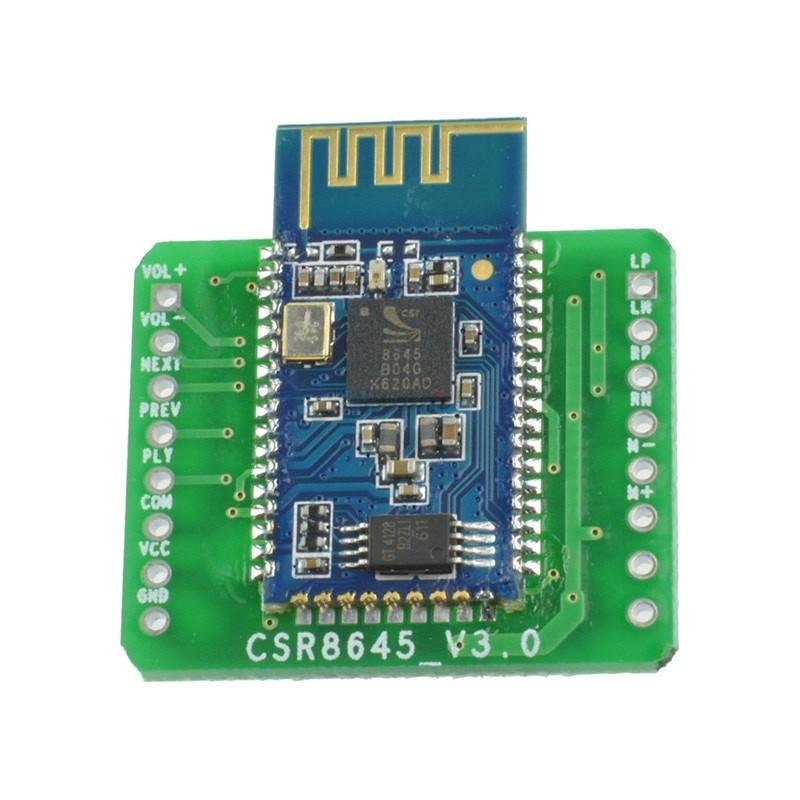 Стерео підсилювач 5Вт+5Вт з Bluetooth приймачем CSR8645