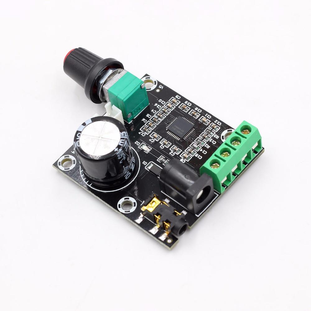 Мініатюрний підсилювач класу D на PAM8610 (2х10W) з регулятором гучності