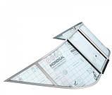 Ветровое стекло Обь 3 (Стандарт П) материал ПОЛИКАРБОНАТ Ob 3 Standard K, фото 3