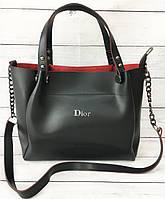 Жіноча сумка Mісhаеl Когѕ (в стилі Майкл Корс), чорна ( код: IBG088B ), фото 1
