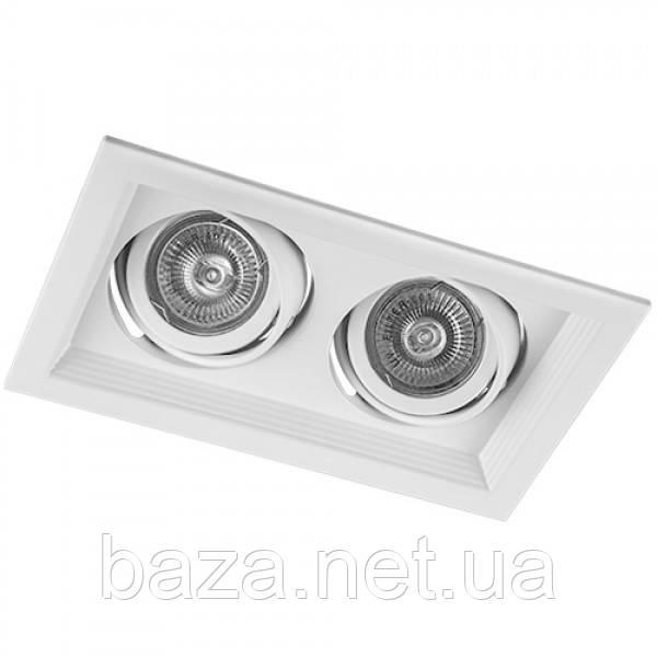 Карданный светильник Feron DLT202 белый