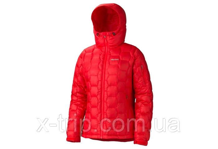 Пуховик женский Marmot Wm's Ama Dablam Jacket Пуховик, 800 Fill Power Down, XS, Cherry Tomato (6778)