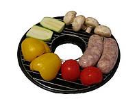 Овощи, купаты на Сковороду Чудо Гриль