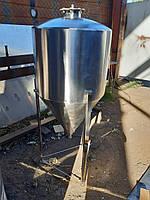 Емкость из нержавеющей для брожения   ЦКТ 50 л. (ZKT-50), фото 1
