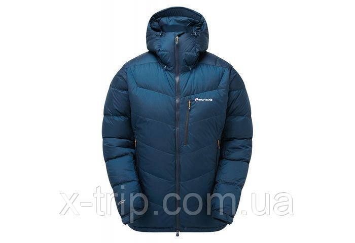 Пуховик Montane Men's Resolute Down Jacket Narwhal Blue, XXL