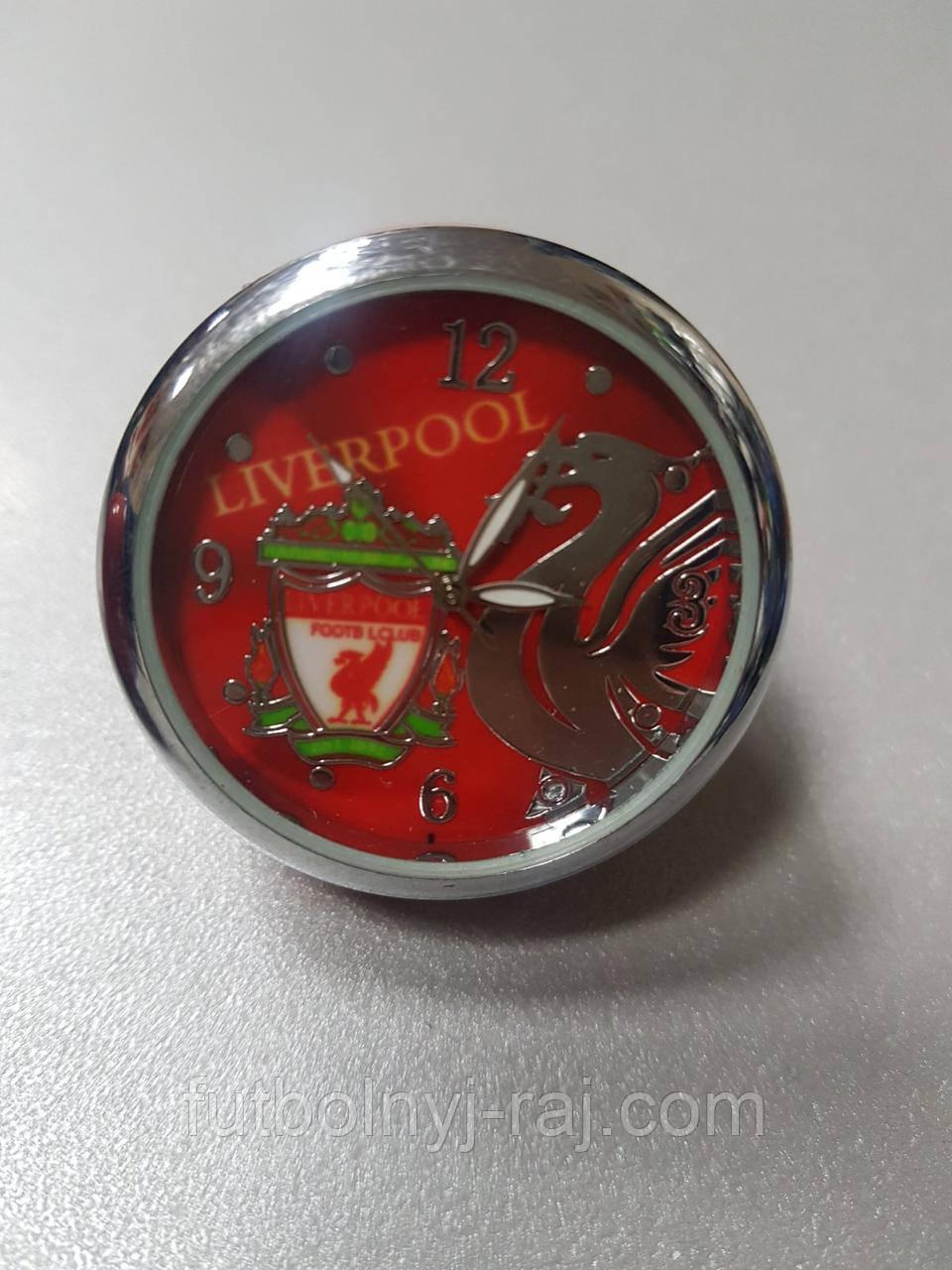 Годинники настільні круглі з символікою FC Liverpool