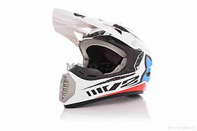 Шлем кроссовый  FOX  (#126, XL, White)