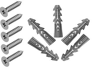 ODF 11-23-00 Комплект шурупів монтажний для ОПМ