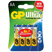 Батарейка GP AA (LR6) Ultra Plus Alkaline 15AUP