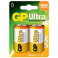 "Батарейка ""банка"" GP D (LR20) Ultra Alkaline 13AU"