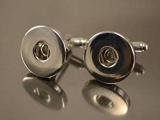 Запонки Noosa, серебро