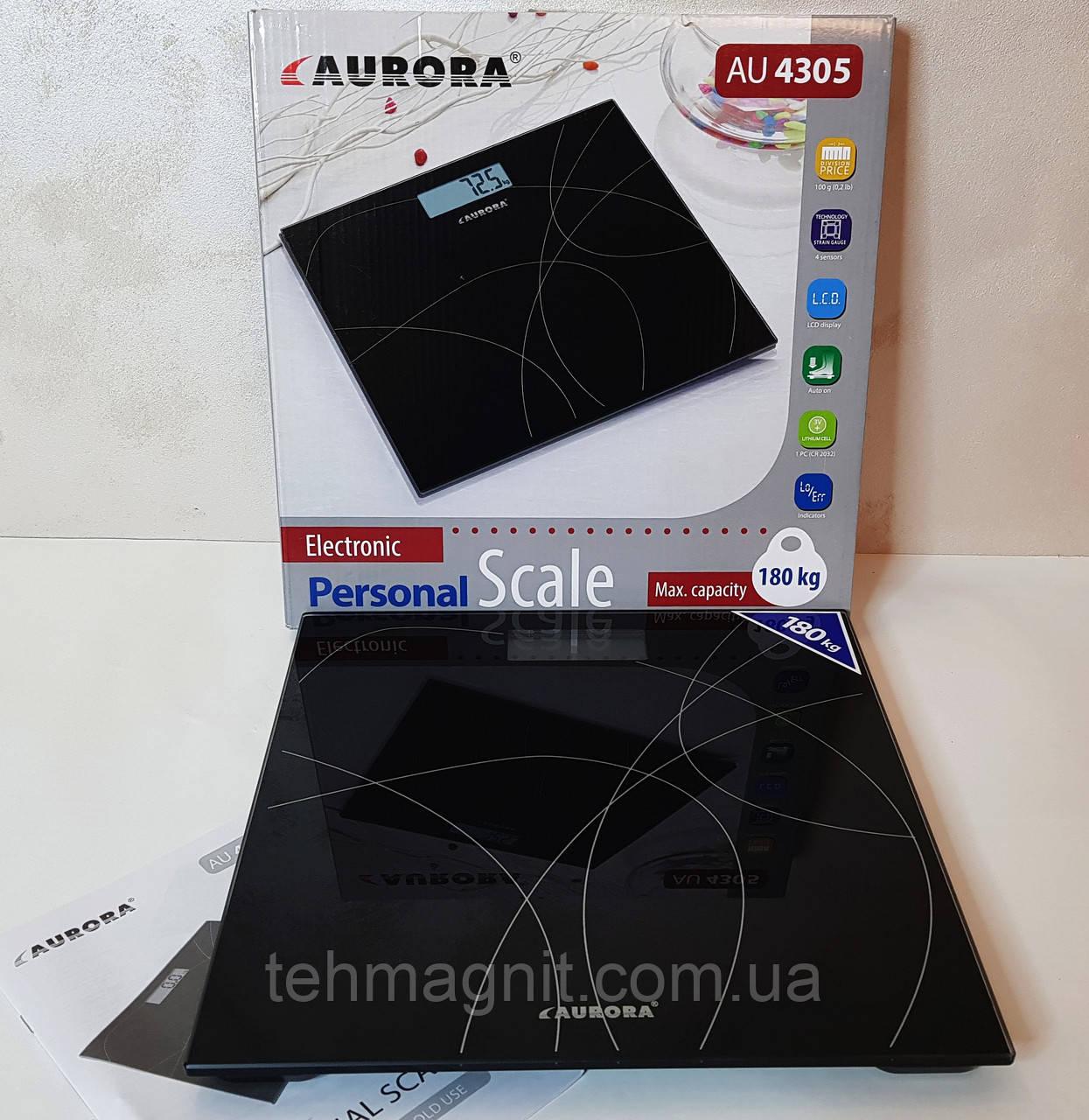 Ваги підлогові електронні Aurora AU-4305
