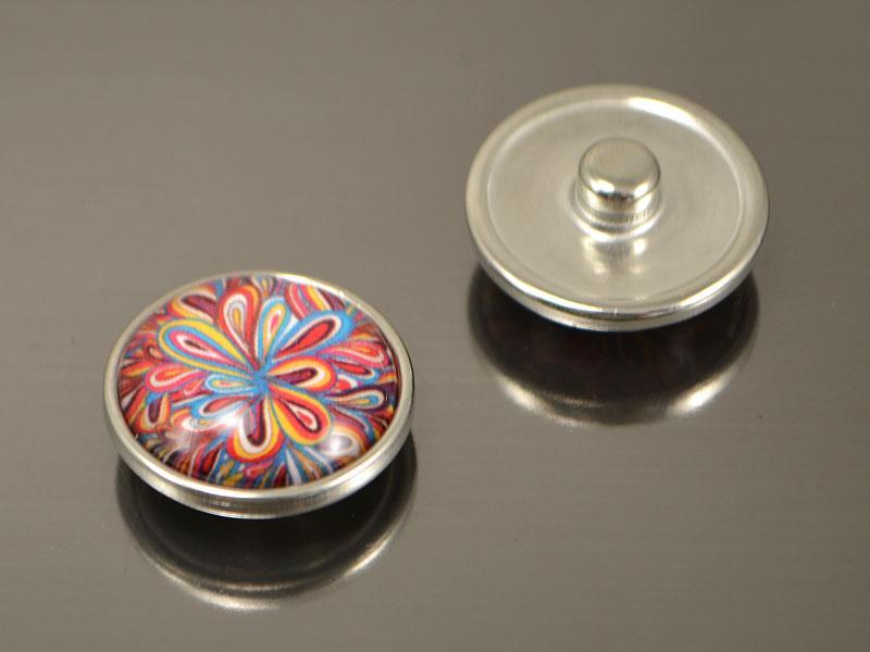 Кнопка Noosa стекло, Всплеск #49