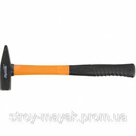 Молоток слесарный 300 г, фиберглассовая прорезиненная ручка, SPARTA