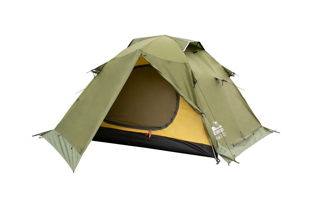 Палатка Tramp Peak 3 (V2) Зеленая