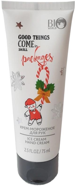 Крем-мороженое для рук Рождество Bioworld 75 мл (4815412003015)