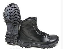 Черные Мужские ботинки натуральная кожа Полуботинок Energy