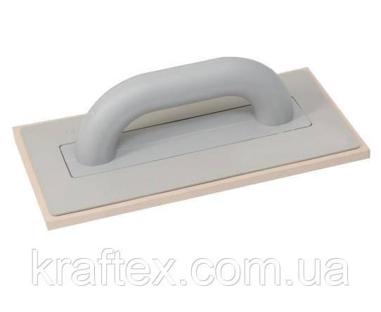 Кубала Терка Kubala с белой плотной резиной 140*280 мм 0310
