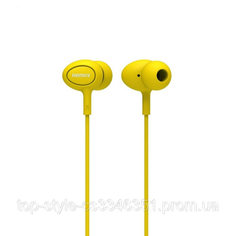 Наушники Remax RM-515 yellow
