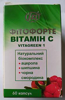 Витамин С, Фитофорте  капсулы №60, Грин-Виза