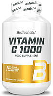 Витамин Ц, Vitamin C 1000 BioTech USA