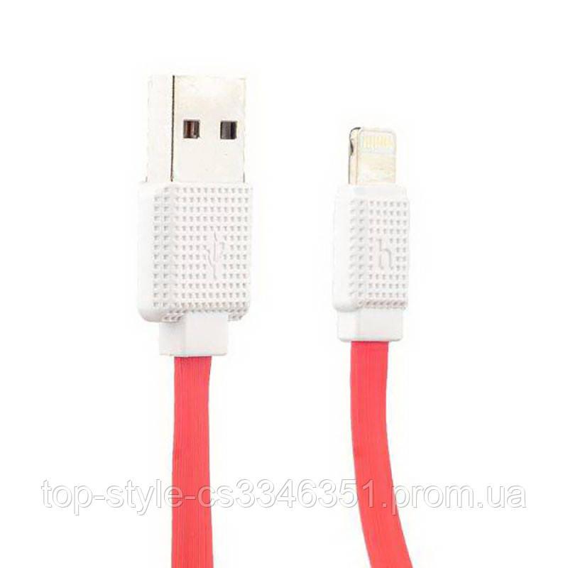 Кабель USB Hoco UPL18 Lightning 1.2m Red