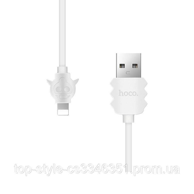 Кабель USB Hoco X16 Lightning iPhone White