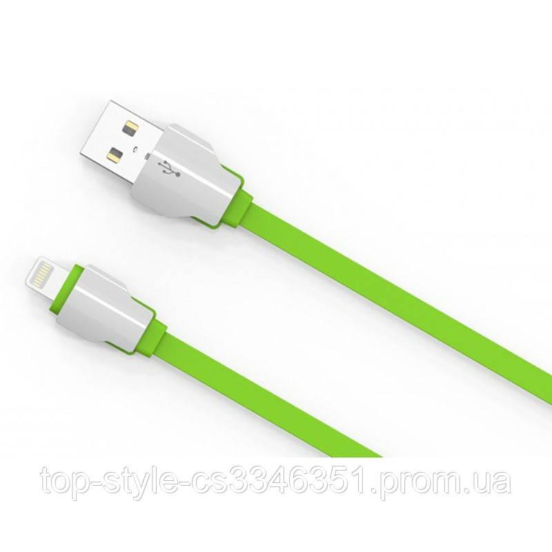 Кабель Ldnio LS04 с Lightning 1M (2.1A) Green