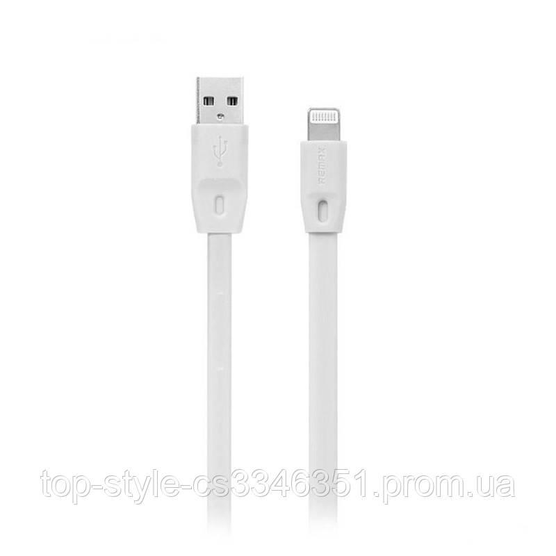 Кабель Remax Full Speed RC-001i USB - Lightning 1 м White