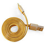 Кабель Remax Golden Lightning 1m Gold, фото 2