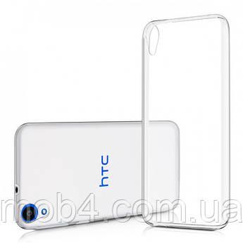 Силиконовый прозрачный чехол для HTC 826