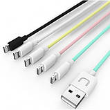 Кабель Usams US-SJ097 Lightning cable 1m Black, фото 4