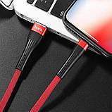 Кабель Hoco U39 Slender Charging Type-C Red-Black, фото 2