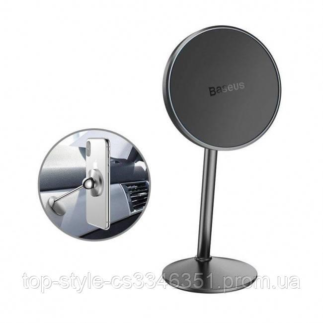 Магнитный держатель для телефона в авто Baseus Little Sun Magnetic Car Mount Black