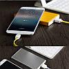 Кабель Rock Micro USB Flat 1M 2.1A White, фото 2