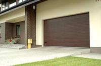 Автоматические  гаражные   секционные ворота 2000 х 2500 мм